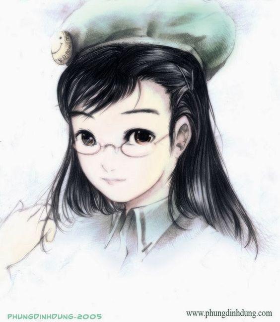 Pinturas adorável e doce digitais por Dzung Phung Dinh