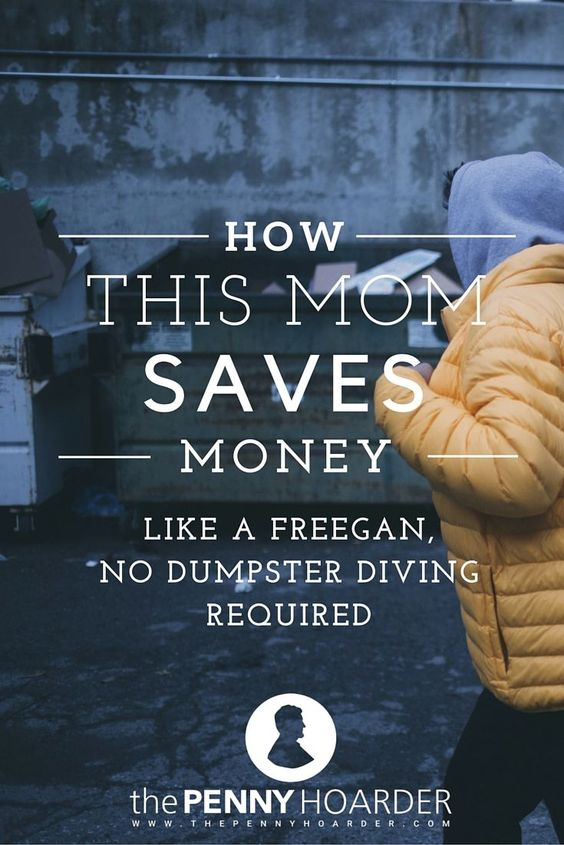 Don't want to try dumpster diving? You can still learn a lot from the freegan lifestyle -- and save a ton of money, too. Here's how this family uses freegan strategies. - The Penny Hoarder http://www.thepennyhoarder.com/how-to-save-money-like-a-freegan/