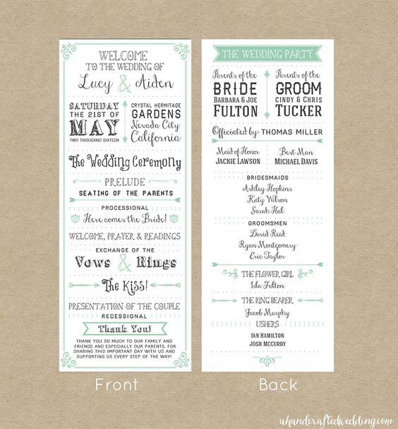 FREE Wedding Invitation Template Via Ahandcraftedwedding