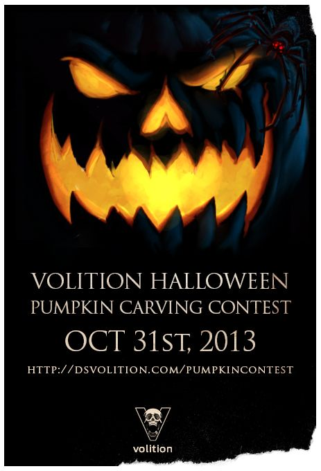 Volition Fan Pumpkin Carving Contest - accepting entries through midnight on Oct 31st!