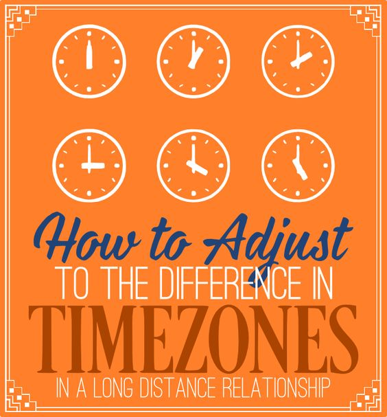 Some good tips on how to deal with time zones when you're in an #LDR :)