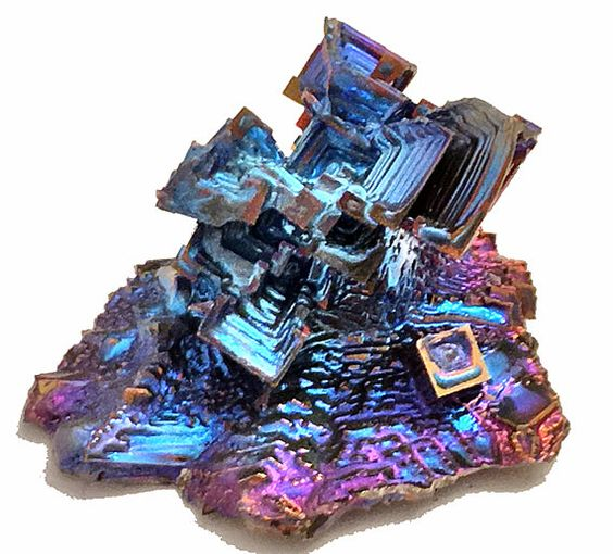Bismuth Crystal  - Healing Energy Metaphysical Metal Unique gift