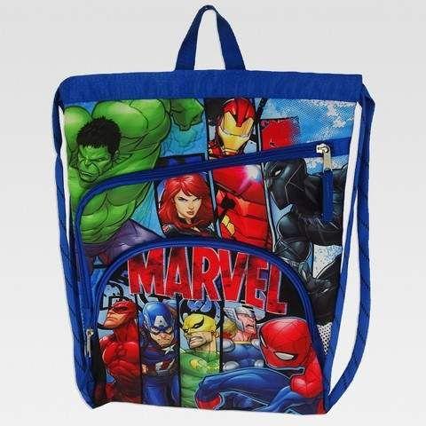 Marvel Thor Iron Man Plush Backpack Kids Rucksack Children School Bag Superhero