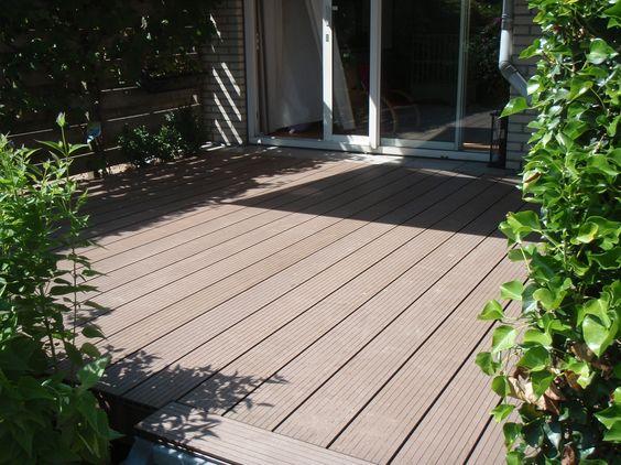 composiet vlonder planken  splinteren niet  gemakkelijk schoon te maken  ze zijn duurzaam en