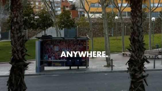 What would happen if a bus stop became Barça's bench?
