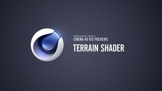 C4D R13 Preview #4 - Terrain Shader