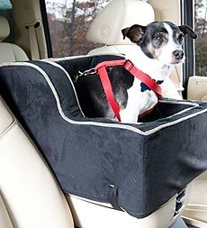 High Back Luxury Pet Lookout Console Seat...so Jax will get off my lap