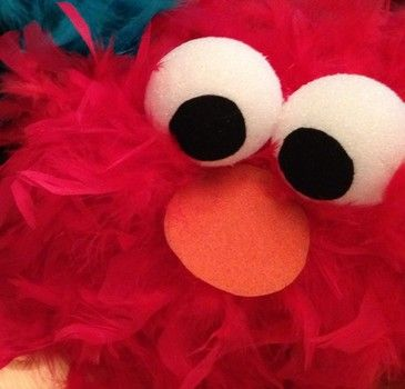 How to Make a Sesame Street Elmo Halloween Costume