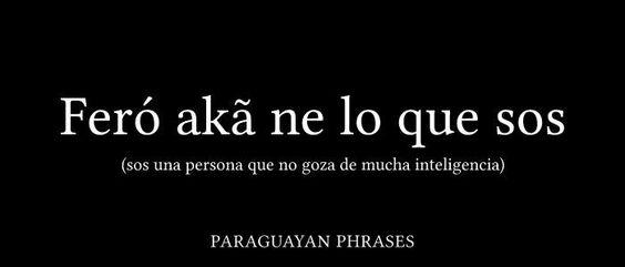 Frases PARAGUAYAS