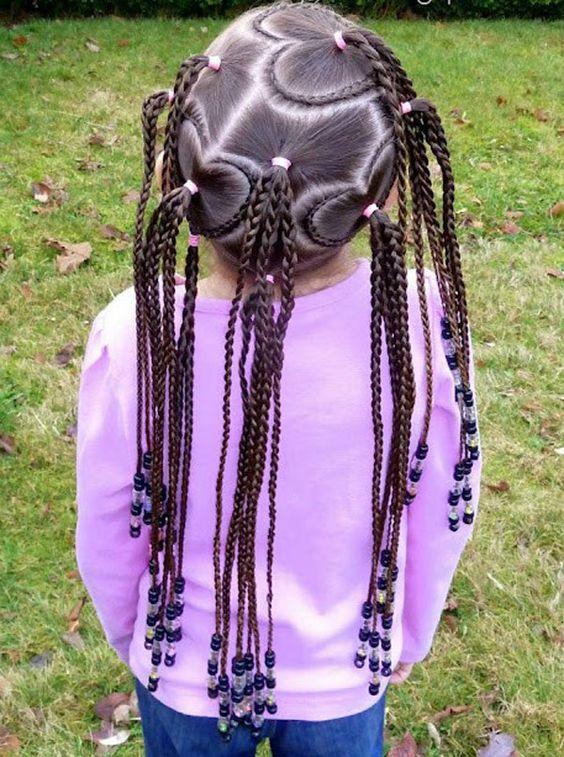 Fun Braids For Bad Hair Days: Kid Braids, Braid Designs And Hairstyles For Kids On Pinterest