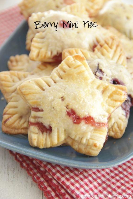 Berry Mini Pies - Eat. Drink. Love.
