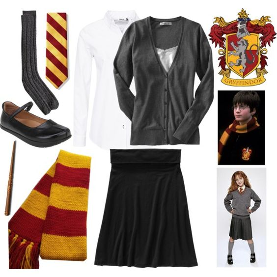 U0026quot;Harry Potter - Gryffindor Uniform (in my closet)u0026quot; by delishwe on Polyvore | did it | Pinterest ...