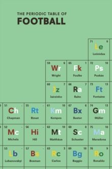Periodic table of game controllers hd wallpaper httpwww the periodic table of football hardback urtaz Gallery