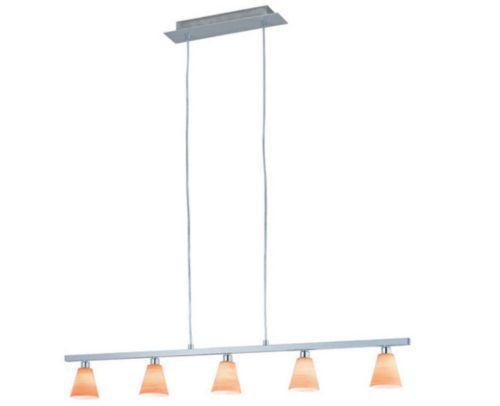 5-flmg Pendelleuchte Lampe Leuchte mediterran Hängelampe Eglo -- 88542 | eBay