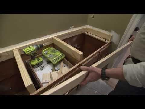 Raise Bathroom Cabinet Height Video Diy Bathroom Vanity Countertops Vanity Countertop