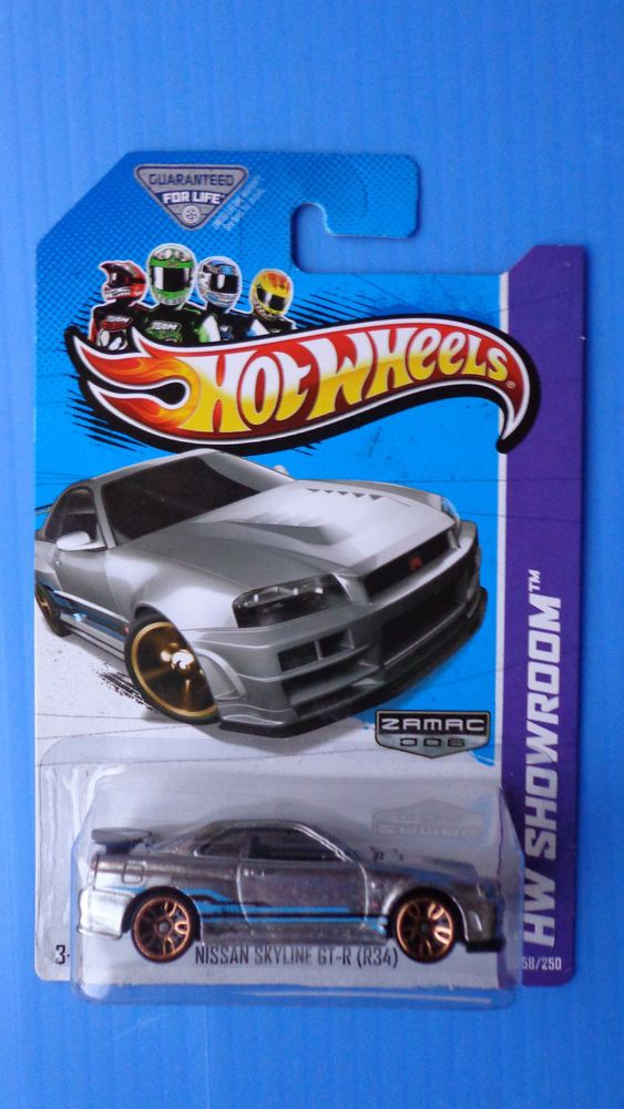 hot wheels 2013 zamac exclusive nissan skyline gt r r34 variation rare - Rare Hot Wheels Cars 2013