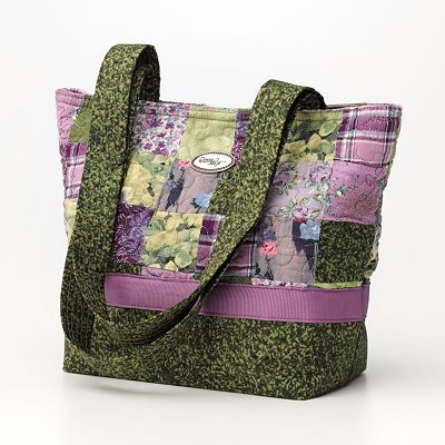 Donna Sharp Quilted Patchwork Purse / Tote