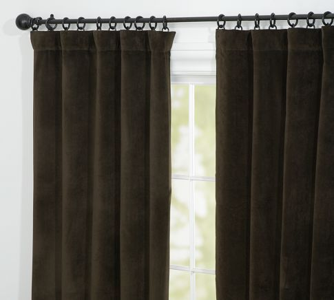 Velvet Drape Pottery Barn 169 Per Panel 108 Family Room Pinterest We Products And Pottery