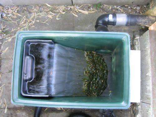 filtre bassin de jardin fait maison