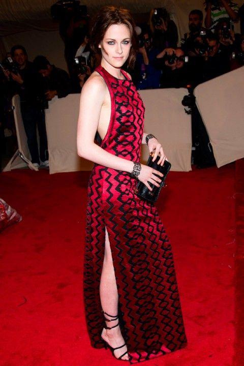 Kristen Stewart in custom Proenza Schouler at the 2011 Met Gala