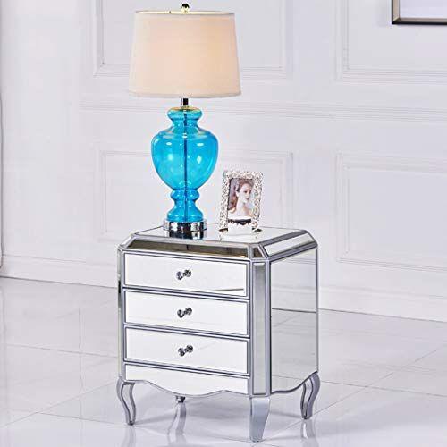 Bedside Table Gjm Shop Black Gold Silver Drawer Type Mirror