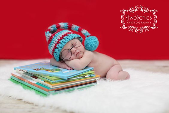 Dr Seuss-inspired newborn photography: