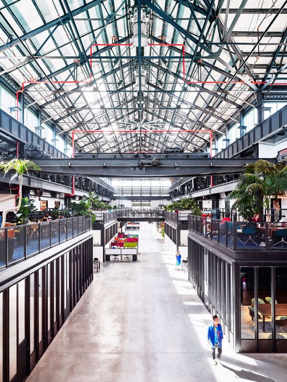In its current state of transformation, the Brooklyn Navy Yard presents a disorienting landscape, where weathering, dilapidated industrial holds give way to ...
