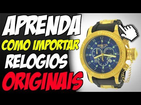 Como Importar Relógios Invicta Originais Pagando MUITO Menos!