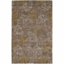 cool Hand-Tufted Viscose Mandara Transitional Rug (5' x 7'6) Check more at http://yorugs.com/product/hand-tufted-viscose-mandara-transitional-rug-5-x-76/