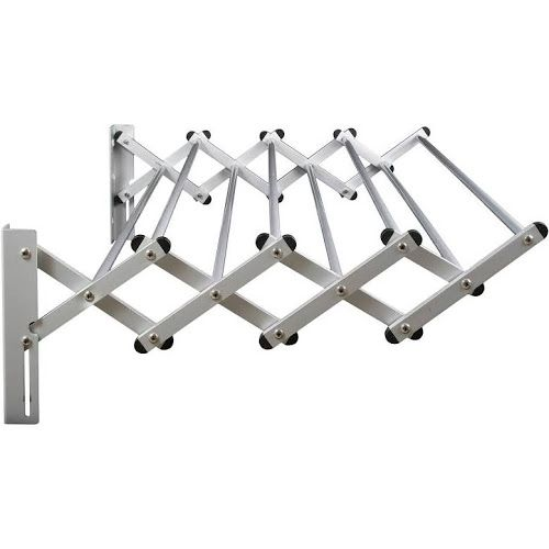 Greenway Indoor Outdoor Foldable Drying Rack Wall Mounted Drying