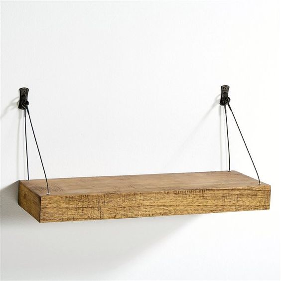 Etag re murale roots largeur 60 cm racines - Etagere 40 cm largeur ...