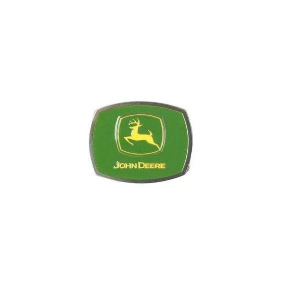 John Deere 2000 Trademark Belt Buckle ❤ liked on Polyvore featuring accessories, belts, john deere belt, john deere and buckle belt