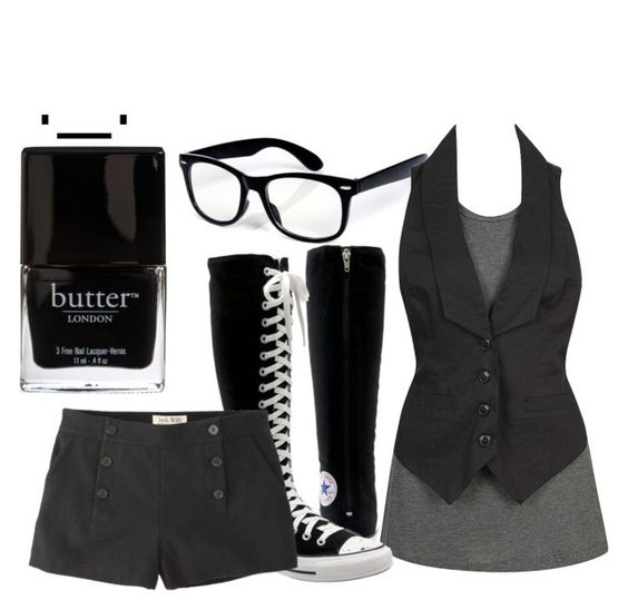 """""""Untitled............."""" by shybunniii143 ❤ liked on Polyvore featuring Forever 21, Converse, Jack Wills and Butter London"""