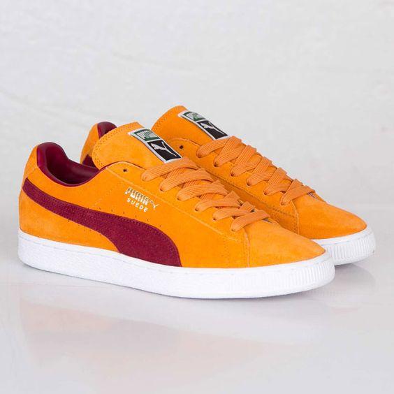 Puma Suede Classic Orange