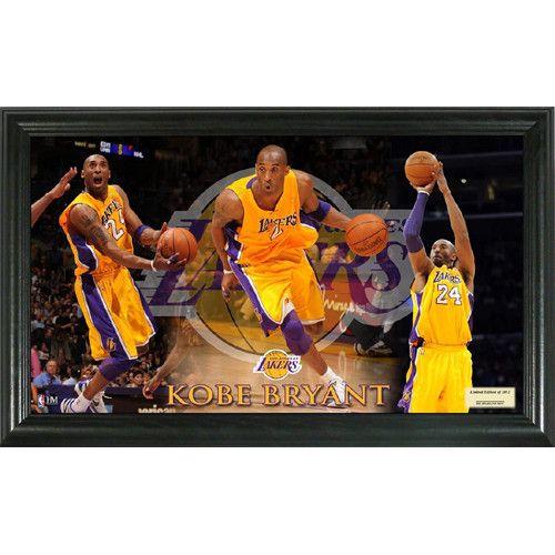 Kobe Bryant Pano 12x20 Frame