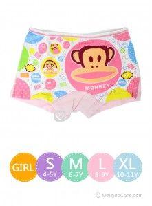 Celana Dalam Anak Lycra Girls Underwear Monkey Frank Rp. 25.000  kunjungi www.melindacare.com atau hubungi 081321148408 dan Pin 765BEE5E