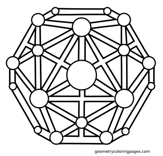 sacred geometry coloring pages - photo #39