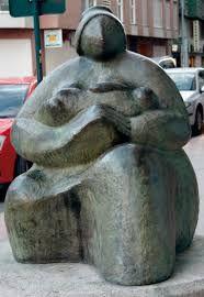 Maternidad escultura