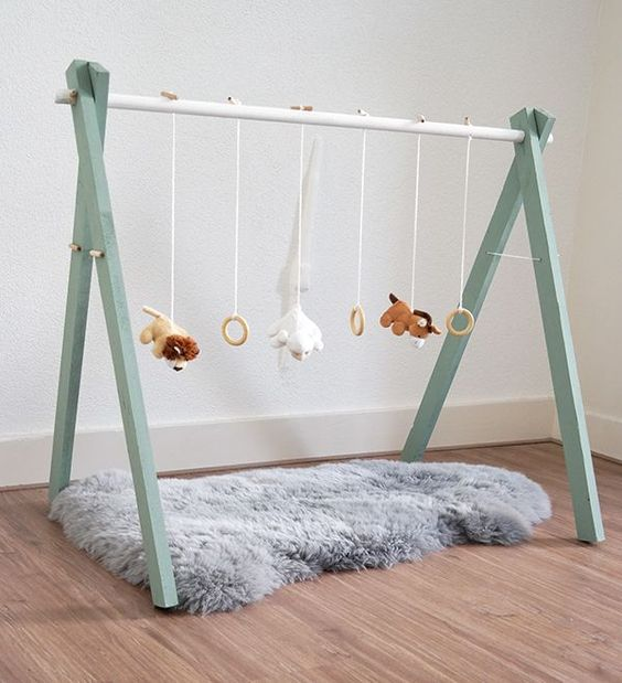 diy babygym mintgroene kinderkamer pinterest. Black Bedroom Furniture Sets. Home Design Ideas