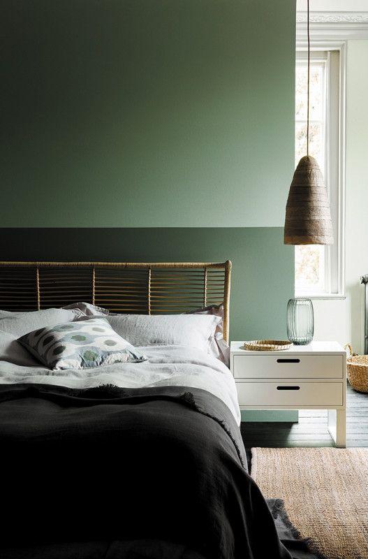 Ambleside Bedroom Little Greene Farben Farbe Farbkonzept Grun