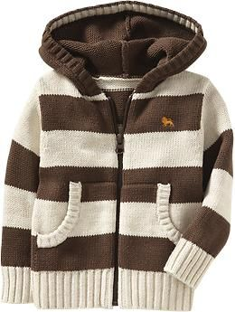 Hooded Zip-Front Sweater Cardis for Baby | Old Navy... Sean (Winter Wardrobe)