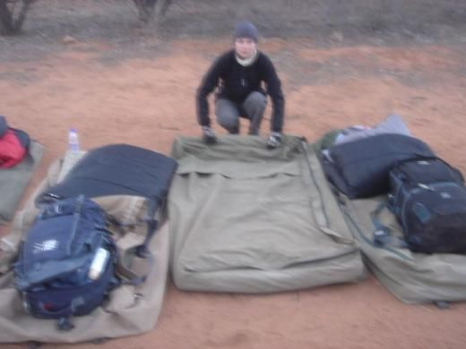 Camping out by Ayres Rock is truly a spiritual experience. Make sure the dingo doesn't steal your baby... erm, i mean swag.