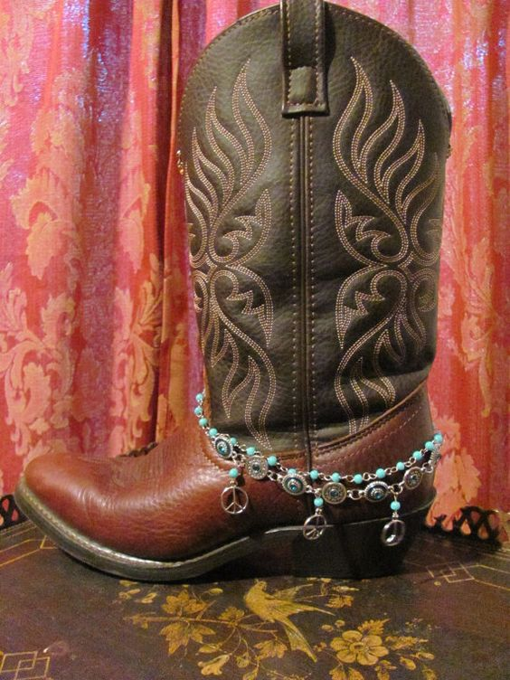 Boot Sweets / Boot Bracelet /Cowgirl Western by TheMaidensFlower