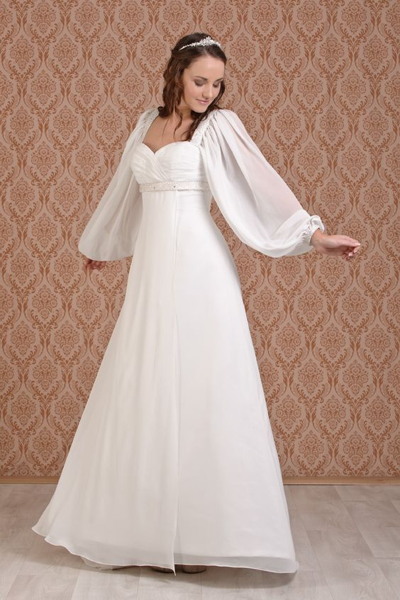wedding dresses long sleeved wedding dresses for mature