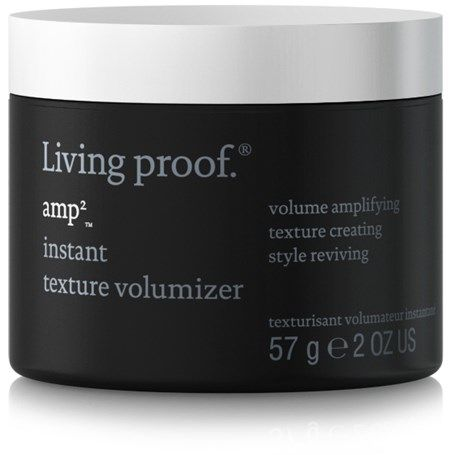 Living Proof Amp Instant Texture Volumizer - This product is the best I ever tried! Style in an instant, all day. Doesn't go hard or sticky, just gives you insane volume. Works best for short hair, I have a pixy style.