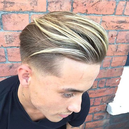 23 Best Men S Hair Highlights 2020 Styles Blonde Tips Medium Length Mens Haircuts Hair Highlights