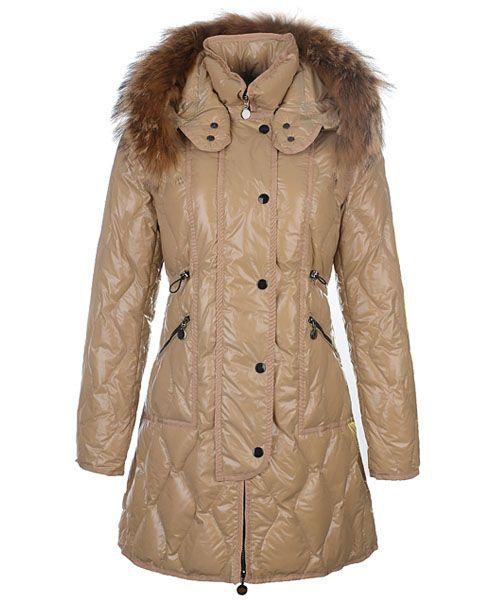 dffb28aa4a13 Moncler Lontre Designer Coat For Women Khaki Great store-wide Savings