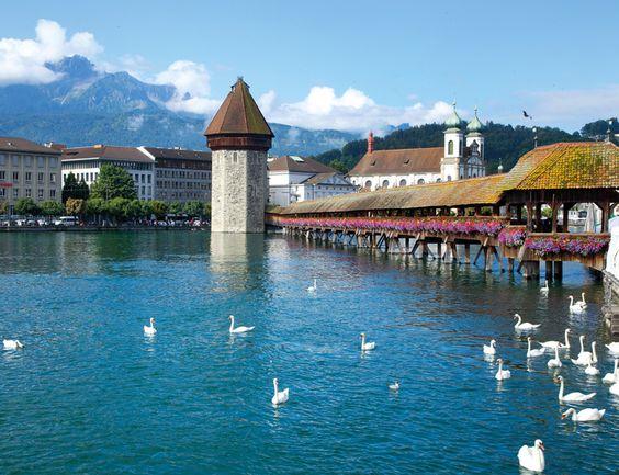 Lucerna, belleza medieval