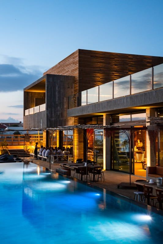 Noah Surf House Portugal A Modern Surf Infused Hotel In Santa Cruz Surf House Bungalow On The Beach Ocean View Hotel