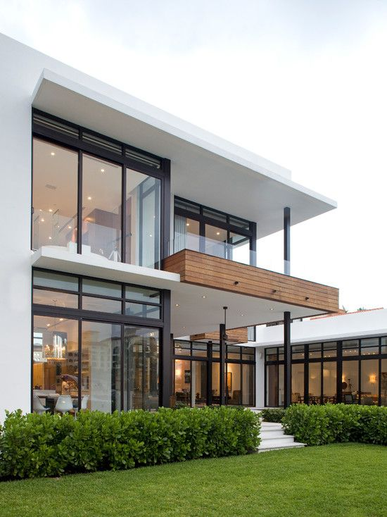 71 Contemporary Exterior Design Photos: Lots Of Windows, High Ceilings And Window